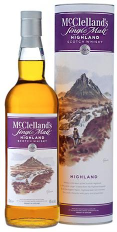 Mcclelland Scotch Highland 80@ Single Malt